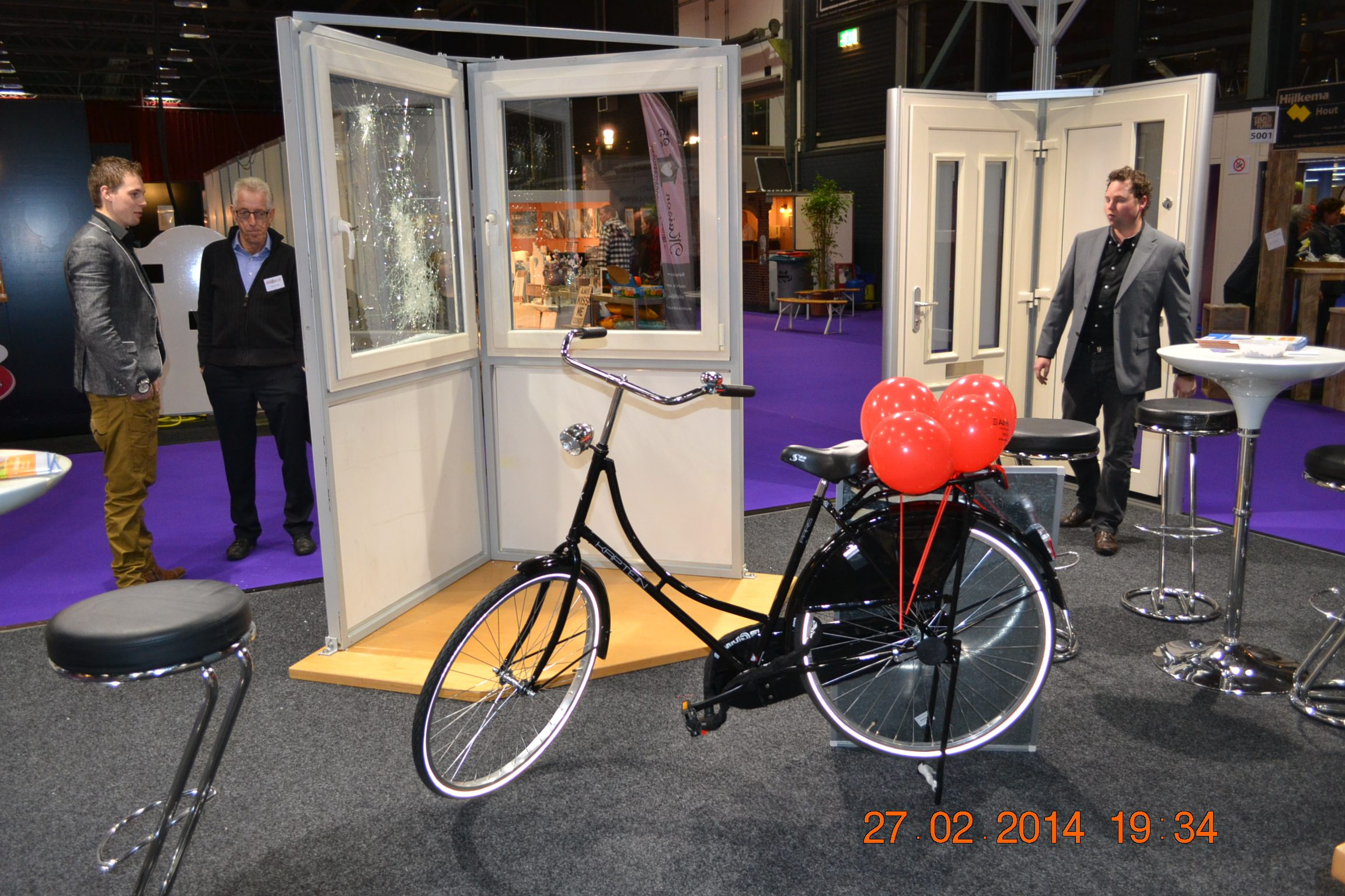 huis en tuin fiets verloting all window