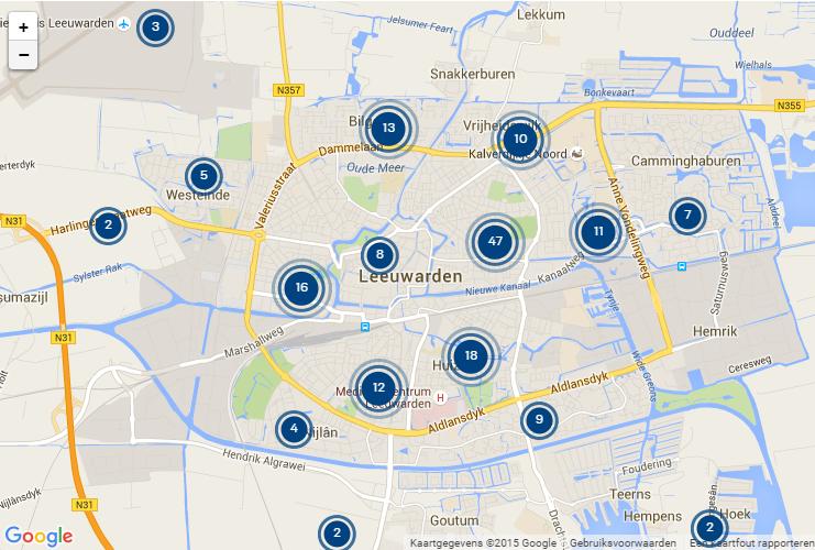 inbraak statistieken Leeuwarden per 16-11-15
